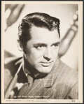 "Movie Posters:Comedy, Cary Grant in His Girl Friday (Columbia, R-1949). Fine/Very Fine. Portrait Photo (8"" X 10""). Comedy.. ..."