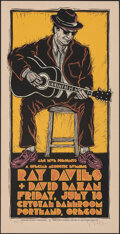 Movie Posters:Rock and Roll, Ray Davies at the Crystal Ballroom (Voodoo Catbox, 2008). Rolled, Very Fine/Near Mint. Signed and Hand Numbered Limited Edit...