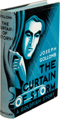 Books:Mystery & Detective Fiction, Joseph Gollomb. The Curtain of Storm. New York: Macmillan, 1933. First edition....