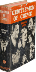 Books:Mystery & Detective Fiction, Arthur Gask. Gentleman of Crime. New York: Macaulay, 1933. First edition....