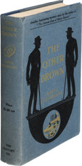 Books:Mystery & Detective Fiction, Adele Luehrman. The Other Brown. New York: Century Co., 1917. First edition....