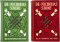 Books:Mystery & Detective Fiction, E. Spence De Pue. Two copies of Dr. Nicholas Stone. New York: G. W. Dillingham Company, [1905]. First Editions. ... (Total: 2 Items)