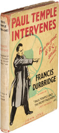 Books:Mystery & Detective Fiction, Francis Durbridge. Paul Temple Intervenes. London, New York, and Melbourne: John Long Limited, [no date but 1944]. P...