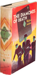 Books:Mystery & Detective Fiction, Wallace Jackson [Also: Jackson Budd]. The Diamonds of Death. London: Sampson Low, Marston & Co., Ltd., [no date but ...