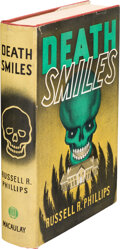 Books:Mystery & Detective Fiction, Russell R. Phillips. Death Smiles. New York: The Macaulay Company, [1936]. First Edition. ...