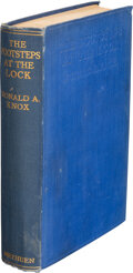 Books:Mystery & Detective Fiction, Ronald A. Knox. The Footsteps at the Lock. London: Methuen & Co. Ltd., [1928]. First Edition. ...