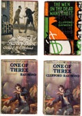 Books:Mystery & Detective Fiction, Clifford S. Raymond. Set of 4 Clifford S. Raymond Mysteries, Including Two Copies of One of Three. New York and Indi... (Total: 4 Items)