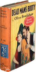 Books:Mystery & Detective Fiction, Olive Bradshaw. Dead Man's Booty. London: The Diamond Press, Limited, 1927. ...