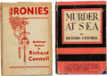 Books:Mystery & Detective Fiction, Richard Connell. Set of Two Books by Richard Connell. New York: Minton, Balch & Company, 1929-1930.... (Total: 2 )