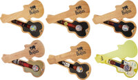 The Beatles Set of Six Watches in Guitar shaped Case With Tags (6) (1990's)
