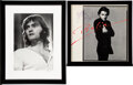 Music Memorabilia:Autographs and Signed Items, Marty Balin Signed Vinyl Album Sleeve and Limited Edition Photo Print....