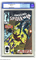 Modern Age (1980-Present):Superhero, The Amazing Spider-Man #265 (Marvel, 1985) CGC MT 9.9 White pages.Spider-man encounters the Black Fox, a jewel thief, in th...