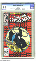 Modern Age (1980-Present):Superhero, The Amazing Spider-Man #300 (Marvel, 1988) CGC NM/MT 9.8 Whitepages. Origin and first appearance of Venom, and the last app...