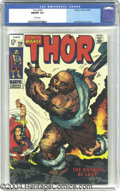 Silver Age (1956-1969):Superhero, Thor #159 (Marvel, 1968) CGC NM/MT 9.8 White pages. Jack Kirby art. Thor may be the God of Thunder, but you'll be the one wh...