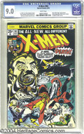 Bronze Age (1970-1979):Superhero, X-Men #94 (Marvel, 1975) CGC VF/NM 9.0 White pages. This issue hadkey events aplenty. Not only was it the second appearance...