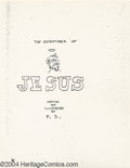 Silver Age (1956-1969):Alternative/Underground, Adventures Of Jesus - First Printing (Gilbert Shelton, 1962). Offered here is the Book of Genesis when it comes to Undergrou... (Total: 3 Comic Books Item)