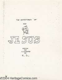 Adventures Of Jesus - First Printing (Gilbert Shelton, 1962). Offered here is the Book of Genesis when it comes to Under...