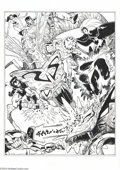 Original Comic Art:Sketches, Walt Simonson - X-Men and Legion of Superheroes Illustration Original Art (2004).. Walt Simonson, renowned for his work on ...