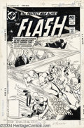 Original Comic Art:Covers, Ross Andru and Dick Giordano - The Flash #284 Cover Original Art(DC, 1980). The Flash is put through his paces as he travel...