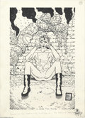 Original Comic Art:Splash Pages, Tim Bradstreet - Madman Pin Up Original Art (1996). Best known forhis gritty covers for Marvel's The Punisher, Tim Brad...