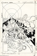 Original Comic Art:Covers, Rich Buckler and Steve Mitchell - World's Finest Comics # 280 Cover Original Art (DC,1982)....