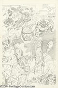 Original Comic Art:Splash Pages, John Byrne - Fantastic Four Splash Page, page 20 Original Art(unpublished, circa 1974). The High Evolutionary commands cent...