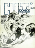Original Comic Art:Covers, Lou Fine - Original Cover Art for Hit Comics #11 (Quality, 1941).Jim Steranko's examples and description of Lou Fine's work...