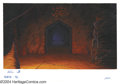 Original Comic Art:Miscellaneous, Heavy Metal 2000 Background Painting Original Art. The eerie lightof this F.A.K.K.2 tableau is subtly modulated over the ba...