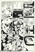 Original Comic Art:Panel Pages, Frank Miller and Klaus Janson - Daredevil #183, page 14 OriginalArt (Marvel, 1982). This drug-themed story was originally s...