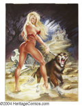 Original Comic Art:Splash Pages, Daniel Pascarelli - Pin Up Original Art (1999). Daniel Pascarelliwas born in Lujan, Buenos Aires, Argentina, in 1963. A sel...
