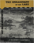 Original Comic Art:Covers, Frank Utpatel - The Inhabitant of the Lake Cover Original Art(Arkham House, 1964). Frank Utpatel's cover art captures the e...