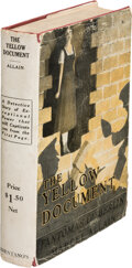 """Books:Mystery & Detective Fiction, Marcel Allen. The Yellow Document or """"Fantômas of Berlin"""". New York: Brentano's, 1919. First Edition...."""