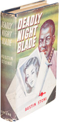 Books:Mystery & Detective Fiction, Austin Stone. Deadly Night-Blade. London: John Gifford Limited, [1950]. First Edition....