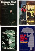 Books:Mystery & Detective Fiction, Ed McBain [Pseudonym of Salvatore A. Lombino; also known as Evan Hunter, Hunt Collins, Richard Marten, Curt Cannon, Ezra Han... (Total: 4 )
