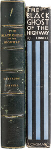 Books:Mystery & Detective Fiction, Gertrude Linnell. Two copies of The Black Ghost of the Highway. New York and Toronto: Longmans, Green and Co., 1931.... (Total: 2 Items)