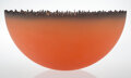 Glass, Jay Musler (American, b. 1949). Cityscape Bowl, circa 1990. Glass. 8-3/4 x 18 inches (22.2 x 45.7 cm). Property from...