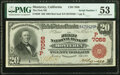 Monterey, CA - $20 1902 Red Seal Fr. 639 The First National Bank Ch. # (P)7058 PMG About Uncirculated 5