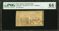 Colonial Notes:New Jersey, New Jersey December 31, 1763 6 Shillings Fr. NJ-155 PMG Choice Uncirculated 64EPQ.. ...