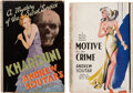 Books:Mystery & Detective Fiction, Andrew Soutar. Pair of Crime Fiction Novels. Various cities: Macaulay; Hutchinson & Co., [1934]-[N.D. but 1941]. Including a... (Total: 2 Items)