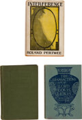 Books:Mystery & Detective Fiction, Roland Pertwee. Interference and Two Copies of The Transactions of Lord Louis Lewis. Boston, New York, &... (Total: 3 Items)