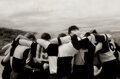 Photographs, Marcia Lippman (b. 1944). West Point Rugby, 1987. Gelatin silver. 8 x 12 inches (20.3 x 30.5 cm). Signed, titled, dated,...