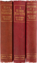 Books:Mystery & Detective Fiction, Richard Marsh. Group of Four Edwardian Novels. London: John Long, 1904. Including two first editions.... (Total: 3 Items)