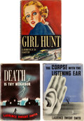 Books:Mystery & Detective Fiction, Laurence Dwight Smith. Group of Three NYC-based Mysteries. Various cities: J.B. Lippincott; Mystery House, [1937]-1940.... (Total: 3 Items)