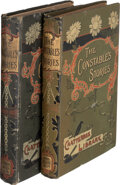 Books:Mystery & Detective Fiction, Flora Schmalz. Two copies of The Constable's Stories. London and Boston: Wells Gardner, Darton & Co.; Dana E... (Total: 2 Items)