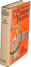 Books:Mystery & Detective Fiction, Earl Derr Biggers. The Chinese Parrot. Indianapolis: Bobbs-Merrill Co., [1926]. First edition....