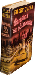 Books:Mystery & Detective Fiction, Ellery Queen. There Was an Old Woman. Boston: Little, Brown and Co., 1943. First edition....