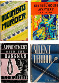 Books:Mystery & Detective Fiction, T. C. H. Jacobs. Group of Four Macaulay Co. Crime Fiction Novels. New York: [1933]-[1937]. First American editions.... (Total: 4 Items)