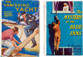 """Books:Mystery & Detective Fiction, Edgar Anstey. Pair of """"Joe Boyle"""" Mysteries. London, New York, and Toronto: Longmans, Green & Co., [1936]-[1937]. First edit... (Total: 2 Items)"""
