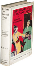 Books:Mystery & Detective Fiction, Robert Bachman. The Hand of A Thousand Rings and Other Chinese Stories. London: Hutchinson & Co., [N.D. but 1925]. F...