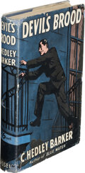 Books:Mystery & Detective Fiction, C. Hedley Barker. Devil's Brood. London: Cassell & Co., [1941]. First edition....
